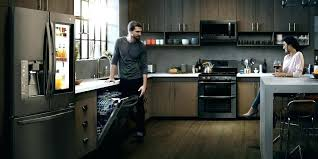 samsung black stainless fridge. Samsung Black Stainless Steel Refrigerator Fridge Kitchen Lg .