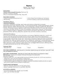 Science Skills For Resume Computer Science Resume Example Jobsxs Com