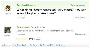 wait what is postmodernism flux  what is postmodernism