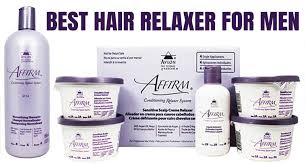 top 6 hair relaxer for men to add to