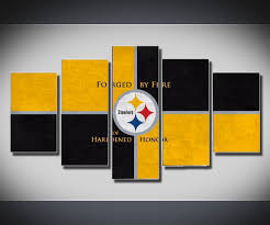 Wall Art Sets For Living Room Steelers Wall Art Takuicecom