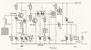 proximity sensor circuit proximity sensor circuit schematic