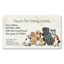 Pet Sitter Business Cards 50 Best Pet Sitting Business Cards Images Pet Sitting Business