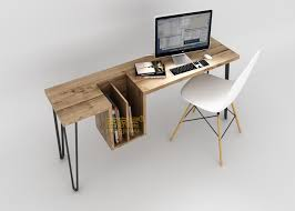 ... Layout Stylish Computer Desk Aliexpresscom Buy Simple And Home Wood  Desktop ...