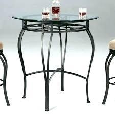 full size of venice 5 pc 54 glass counter height dining set acme table in clear