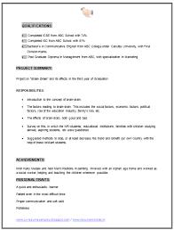 Mba Graduate Resume Best Mba Marketing Finance Resume Sample Doc 1