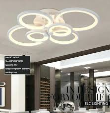 space lighting miami. Modern Ceiling Design Smart Lighting Decoration Online Shopping Living Room 6 Ring Lamps Miami Space