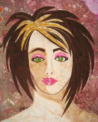 32 best Face quilts images on Pinterest | Friends, Crafts and ... & One of my portrait quilts Adamdwight.com