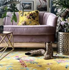 Wendy Morrison Rug Birdsong Yellow | Pre-Order – Little and Fox Design -  Fabric Curtains and Upholstery
