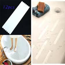 bathtub slip strips transpa anti slip strip for bathroom bathtub staircase concave convex surface pet non slip tape kids safety applique in bath mats