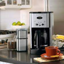 This cuisinart coffee maker comes in an impressive black design with the cuisinart name on it. Cuisinart Brew Central 12 Cup Programmable Coffee Maker Stainless Steel Dcc 1200p1 Target