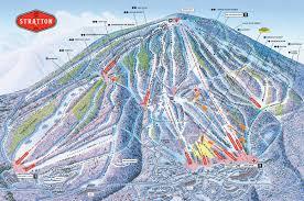 stratton mountain resort trail map • piste map • panoramic