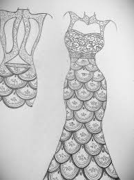 Sketching Clothing Dress Paintings Search Result At Paintingvalley Com