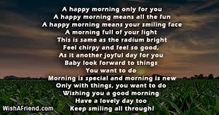 Good Morning Positive Quotes Unique Good Morning Poems For Her