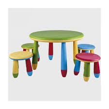 plastic round children39s table