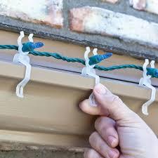 Christmas Light Hanging Kit Home Depot Pro Pack Universal Light Clips Box Of 500