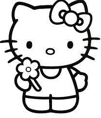 Hello Kitty Coloring Pages To Print Printable Coloring Pages Hello
