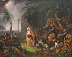 charles willson peale noah and his ark after charles catton painting authorized official website