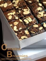 Cassava Brownies Ditulis Oleh Ricke Indriani Ini Adalah Brownies