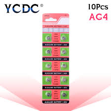 <b>10pcs</b>/<b>pack AG4</b> LR626 <b>377</b> Button Batteries SR626 177 Cell Coin ...