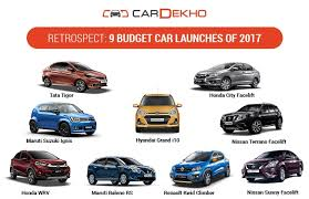 new car releases this yearRetrospect 9 Budget Car Launches Of 2017  CarDekhocom