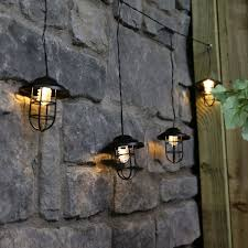 metal plug in lantern string lights warm white leds 1m outdoor light fixture with metal ol023