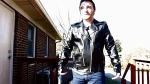 h m pleather negan biker jacket the walking dead review and model