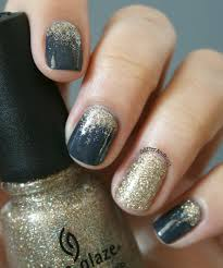 Be Fun and Fabulous with this: Top 50 Glitter Ombre Nails