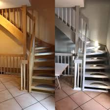 Unsere treppenhandläufe lassen sich leicht montieren und werden mit allem notwendigen zubehör geliefert. Treppen Streichen Mit Kreidefarbe