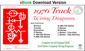 fordmanuals com 1976 ford truck shop manual ebook 1976 ford truck wiring diagrams ebook