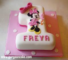 Minnie Mouse First Birthday Cake Ideas