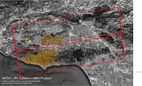 Woolsey Fire Aria Damage Proxy Map V0 5 Nasa Earth