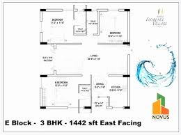 Two Bedroom House Plans East Facing Awesome East Facing Double Bedroom  House Plans As Per Vastu