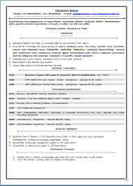 Gallery of: MBA Finance Resume Sample