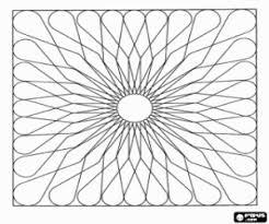 Kleurplaat Van De Cirkel Naar Een Vierkant Mandala Kleurplaten