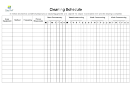 Bathroom Cleaning Schedule Stunning Business Restroom Checklist For Ms Word Washroom Format Housekeeping