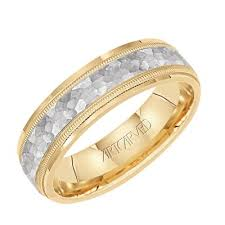 artcarved wedding bands. artcarved yellow \u0026 white gold band artcarved wedding bands