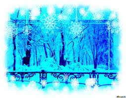 Winter Powerpoint Download Free Picture Snow City Park Snowy Card Background