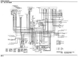 motorcycle wire schematics bareass choppers motorcycle tech pages Wiring Harness For Honda Vtx1300c 04 05 vtx 1800r schematic Kohler Engine Wiring Harness Diagram