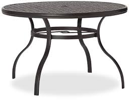 incredible outdoor aluminum dining table strathwood whidbey cast aluminum outdoor patio furniture