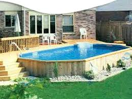 Above Ground Swimming Pool Deck Designs New Inspiration