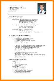 4 Pilipino Resume Address Example