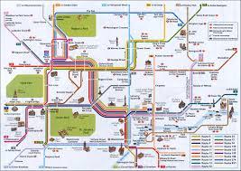 london tourist map  new zone
