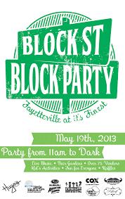 Block Party Flyer Flyer Guide 2013 Block Street Block Party Fayetteville Flyer