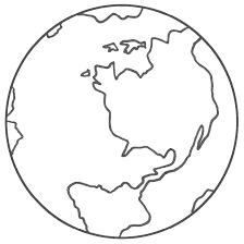 Small Picture Globe Coloring Pages GetColoringPagescom