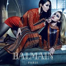Kylie and Kendall Jenner Star in Balmain s Fall 2015 Campaign.
