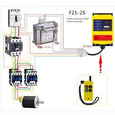 electric hoist control circuit diagram Ac Hoist Wiring Diagram Cm Hoist Model H Wiring Diagram