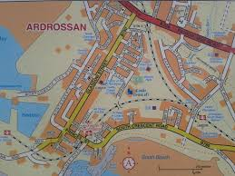 map of ardrossan at ardrossan town railway station picture of Map Of Ardrossan map of ardrossan at ardrossan town railway station map of ardrossan
