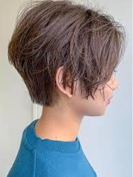 ハンサムショート 直毛で毛が硬い方も ショートできますよ 襟足は
