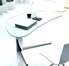 office glass desks. Contemporary Glass Desks For Home Office Top Desk Table Gallery Modern  Creative Of .